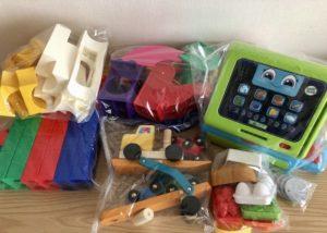 トイサブ おもちゃの梱包例