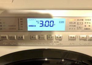 乾燥機付き洗濯機 乾燥時間