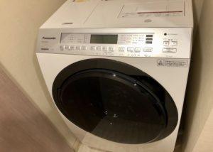 乾燥機付き洗濯機 外観