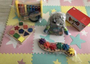 おもちゃ梱包例