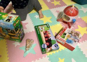 キッズラボラトリー 2回めレンタルおもちゃ