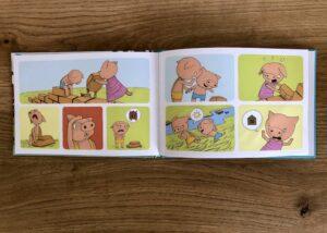 SMRTGAMES三匹の子豚パズル絵本