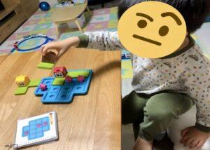 SMRTGAMES三匹の子豚パズルで遊ぶ様子
