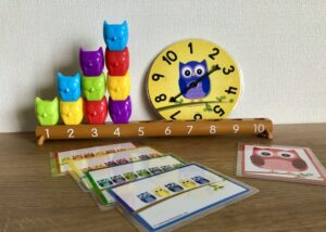 1-10Counting Owls Activity Set
